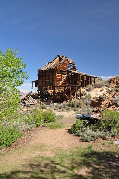 Chemung Mine ruins