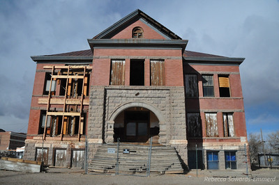 The rotting old high school