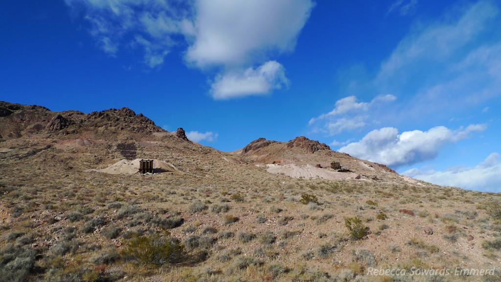 Bullfrog mining district ruins - near Pioneer outside of Beatty.