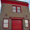 Fire station in goldfield