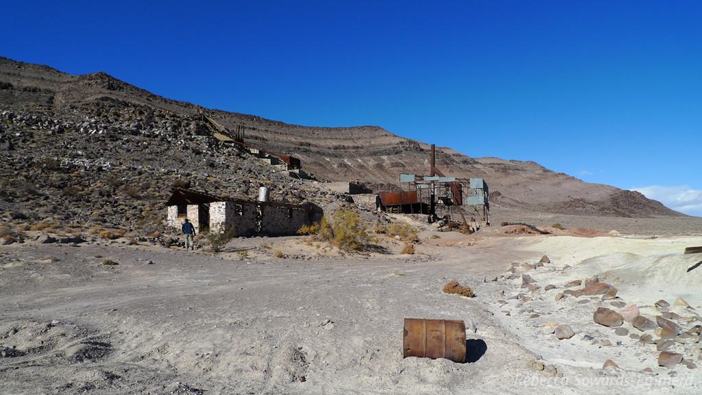 Bonnie Clair mine ruins