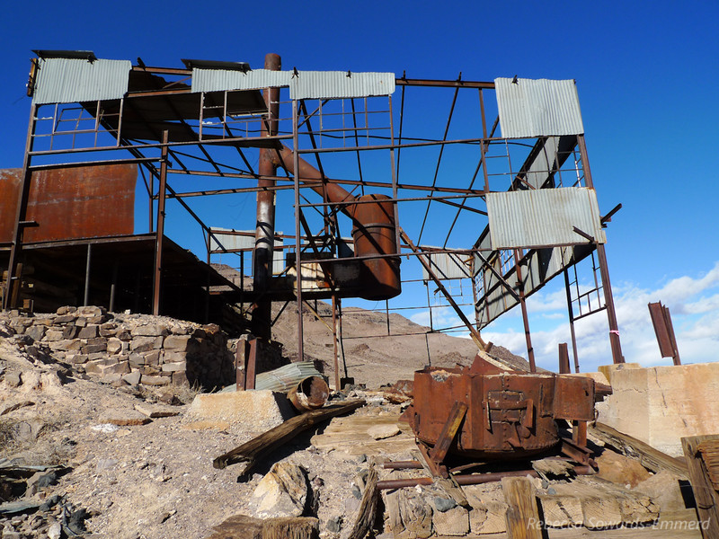 Lippincott Smelter Ruins