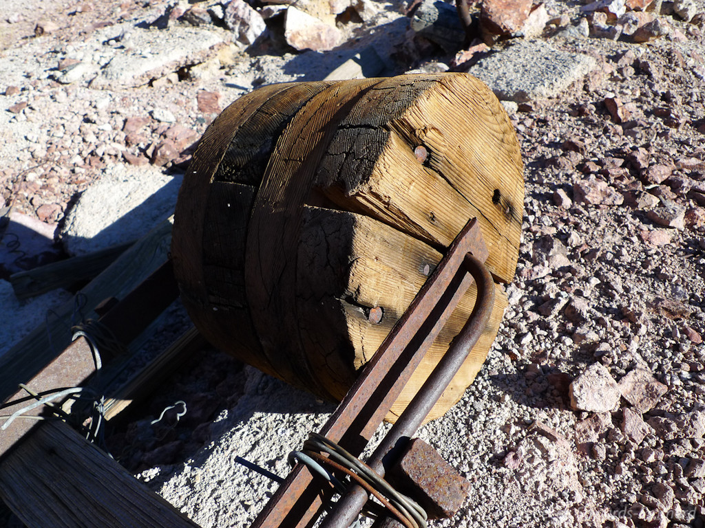 Part of the pulley system