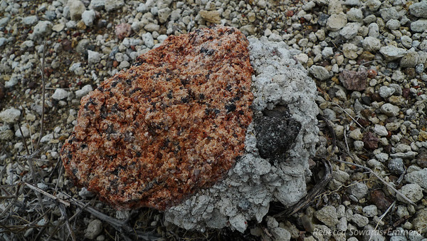 Pumice and granite