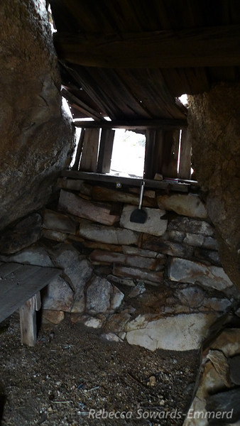 Old cabin at the McCloud Mine