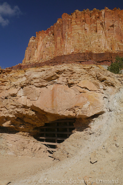 Old uranium mine.