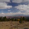 Gorgeous multicolored landscape near Escalante.