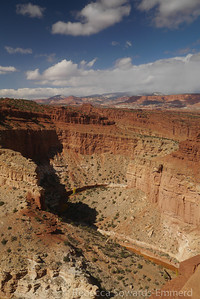 Stopped at another viewpoint in Capitol Reef...