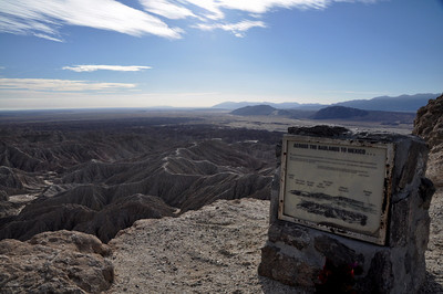 View towards Mexico