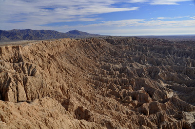 Badlands. This view reminded me of Bryce Canyon