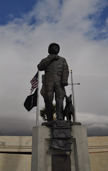 On Christmas morning we left Palm Springs and headed out to Joshua Tree National Park. We took a slight detour along the way and stopped by the Patton Museum at Chiriaco Summit (one exit beyond the turnoff to Jtree).