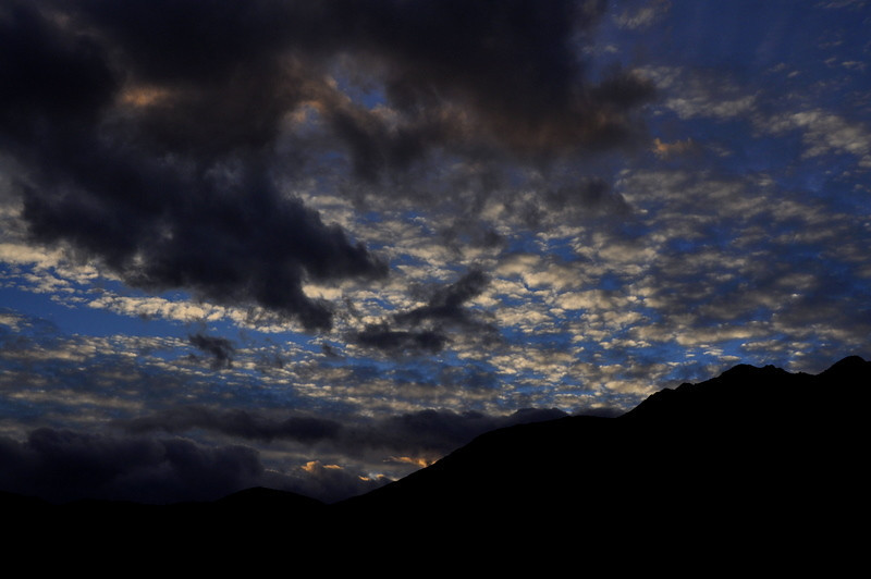 Evening<br /> <br /> After setting up camp at Borrego Palm Canyon campground we were treated to a great sunset.