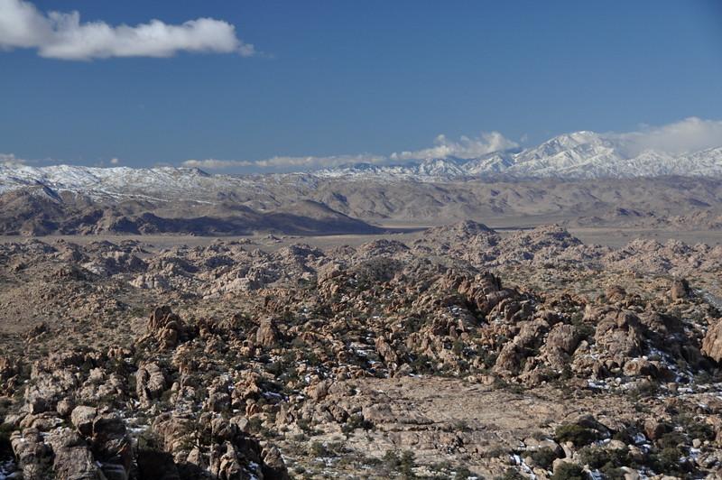 Wonderland of Rocks and San Gorgonio