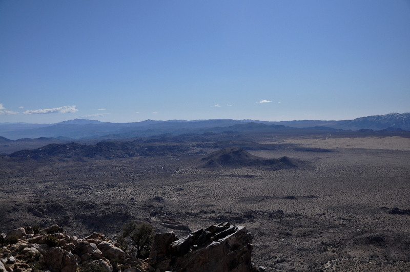More desert views, towards Geology Road area