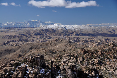 View to the Southwest - Mt San Jacinto in the distance.