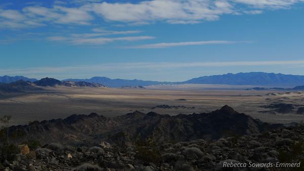 One last zoomer shot towards Kelso Dunes.