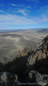 View from the summit of Cowhole.