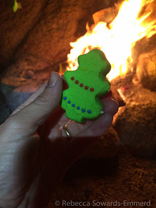 Do you know what is better over the fire than roasted marshmallows? Roasted peeps!