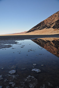Badwater reflections
