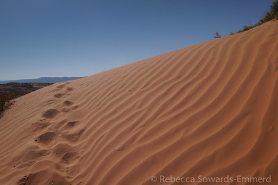 Sand dune by Spooky Canyon
