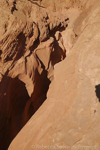Looking down into the narrows of Peek-A-Boo from above.