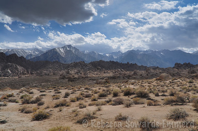 Whitney and Lone Pine without that pesky arch in the way.