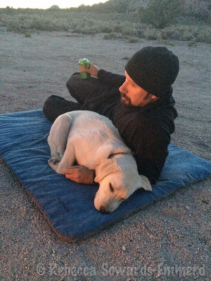 Campfire cuddles