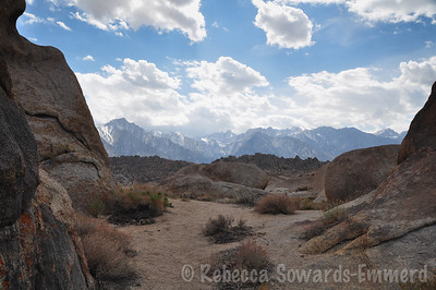 Alabama Hills view of whitney