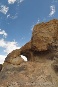 Behind the Heart Arch, Alabama Hills