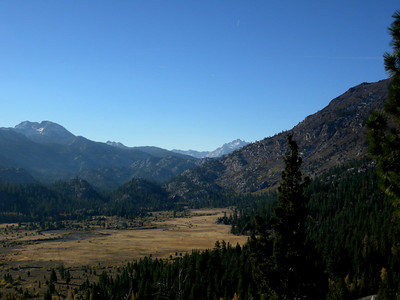 We drove out on Friday morning hoping for some nice fall colors. Not many aspens here along 108.