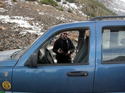 David with the bthomasmobile.