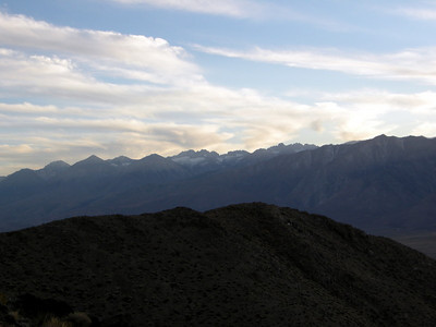 View towards the sierra - The Palisades