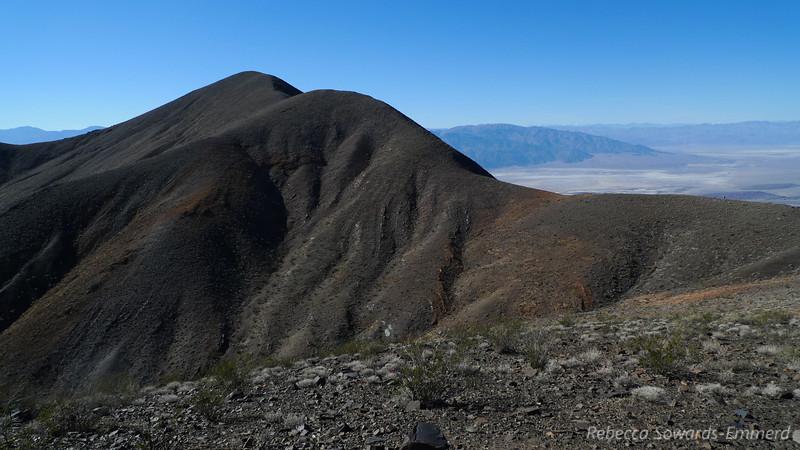 Final ridge to the summit.