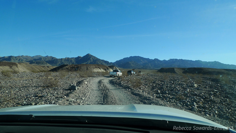 This was our first time up Echo Canyon Road. I'd heard tales of nasty nasty road but it was smooth sailing for our Toyota Crew (2 Tundras, 1 4-Runner and 1 Tacoma).