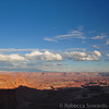 Canyonlands in the late afternoon