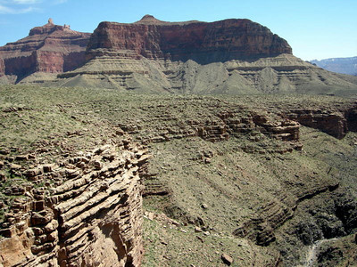 We circle around Zoroaster Canyon
