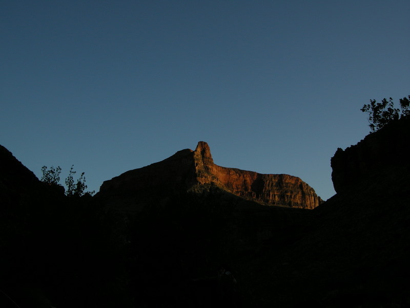 Howlands Butte at sunset