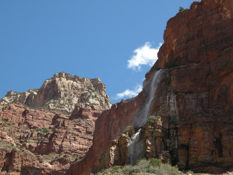 Cheyava Falls<br /> <br /> These are the tallest falls in the Grand canyon