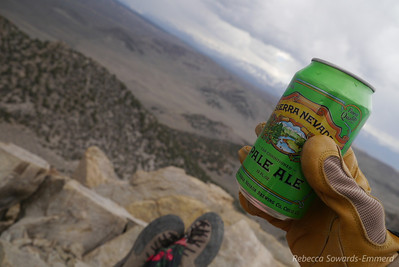 Sierra view with a sierra summit beer.