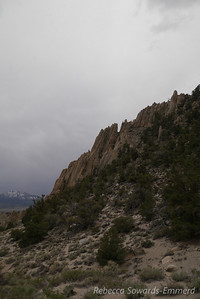 Some of the rocks reminded me of the flatirons.