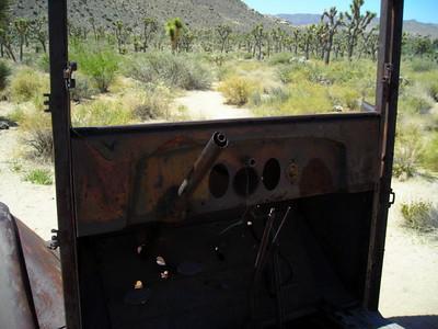 Rusty Truck Near the Wall Street Mine