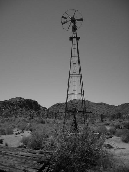 Windmill Near the Wall Street Mine