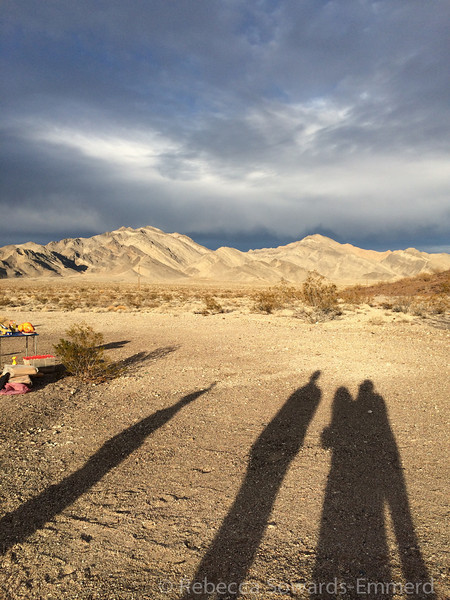 From Ash meadows it was a short drive to our Thanksgiving campsite. Everyone arrived by dark.