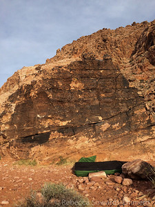Stopped by the Krafts on Thanksgiving morning for a quick bouldering session. This is one of the warm up boulders.