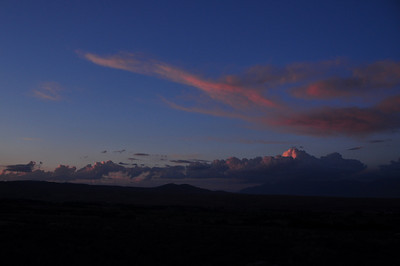 Sunset from Horton Creek