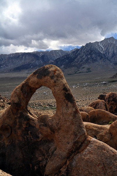 Arch and Lone Pine Peak
