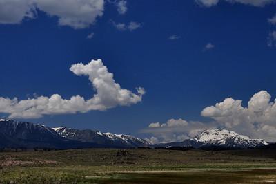 View towards Mammoth