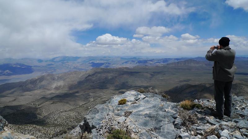 Cerro Gordo summit view