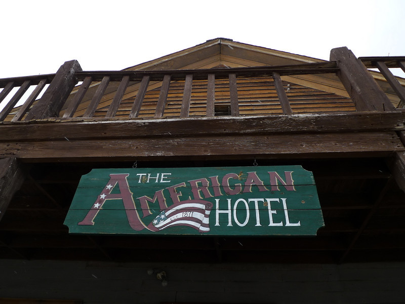 The old hotel and saloon