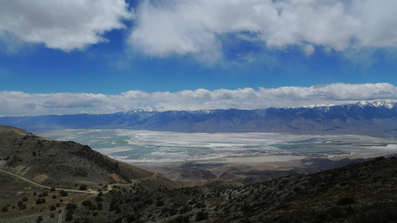 Owens Dry lake and Olancha Peak